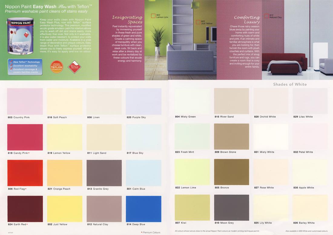 Dulux Paints Catalogue Images