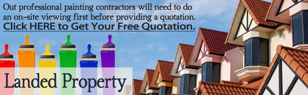 Landed Property Painting Services Singapore
